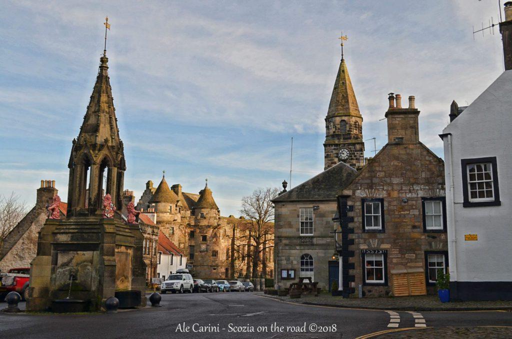 falkland - outlander film locations - scozia