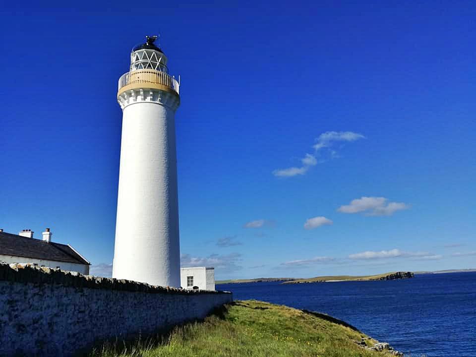 orcadi, hoy, cantic head lighthouse