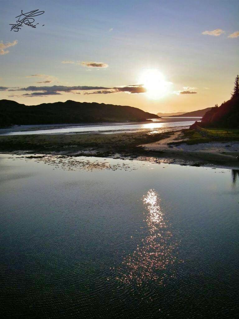 road to the isles, tramonti lungo la strada costiera