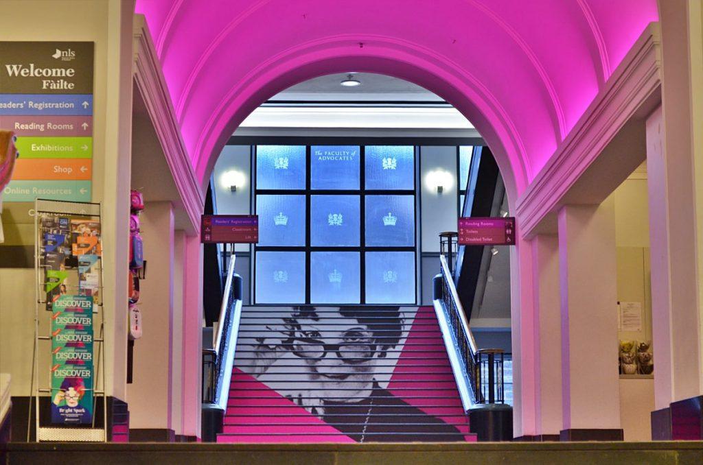scottish national library, tour virtuale della Scozia