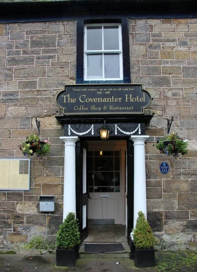 covenanter hotel e outlander