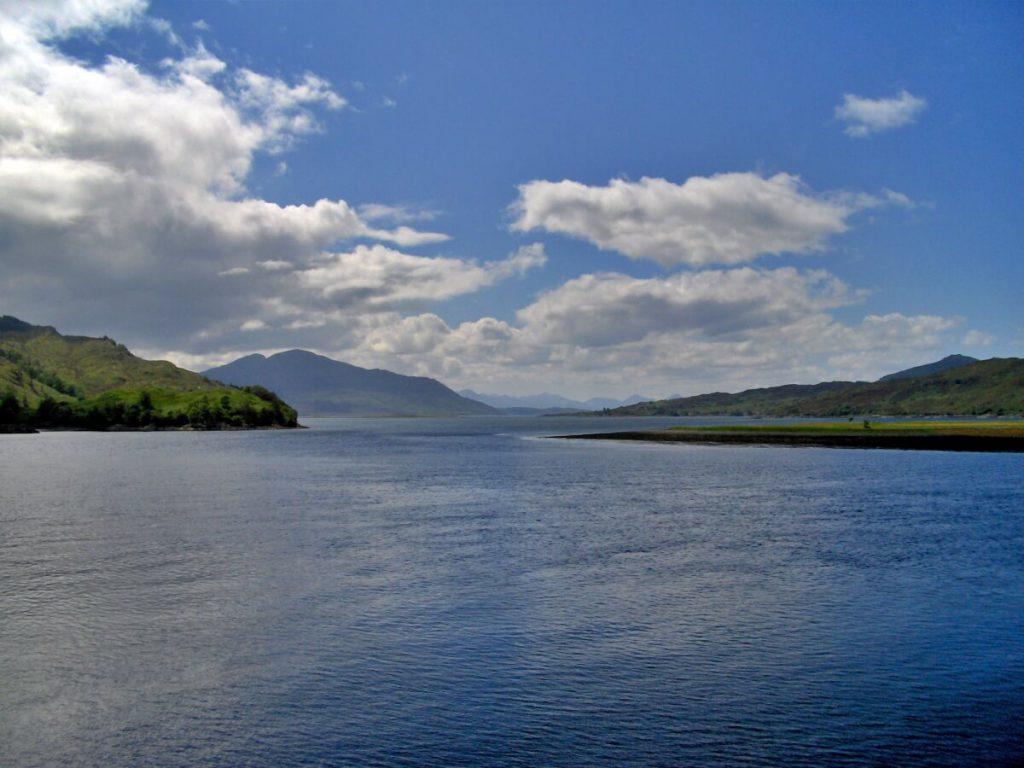 webcam per vedere la Scozia, viste da Eilean Donan castle, immagini della scozia
