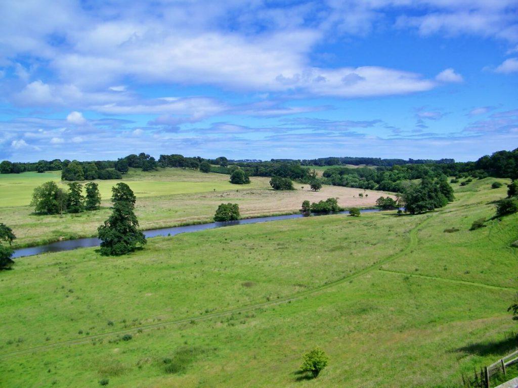 campagne vicino ad Alnwick