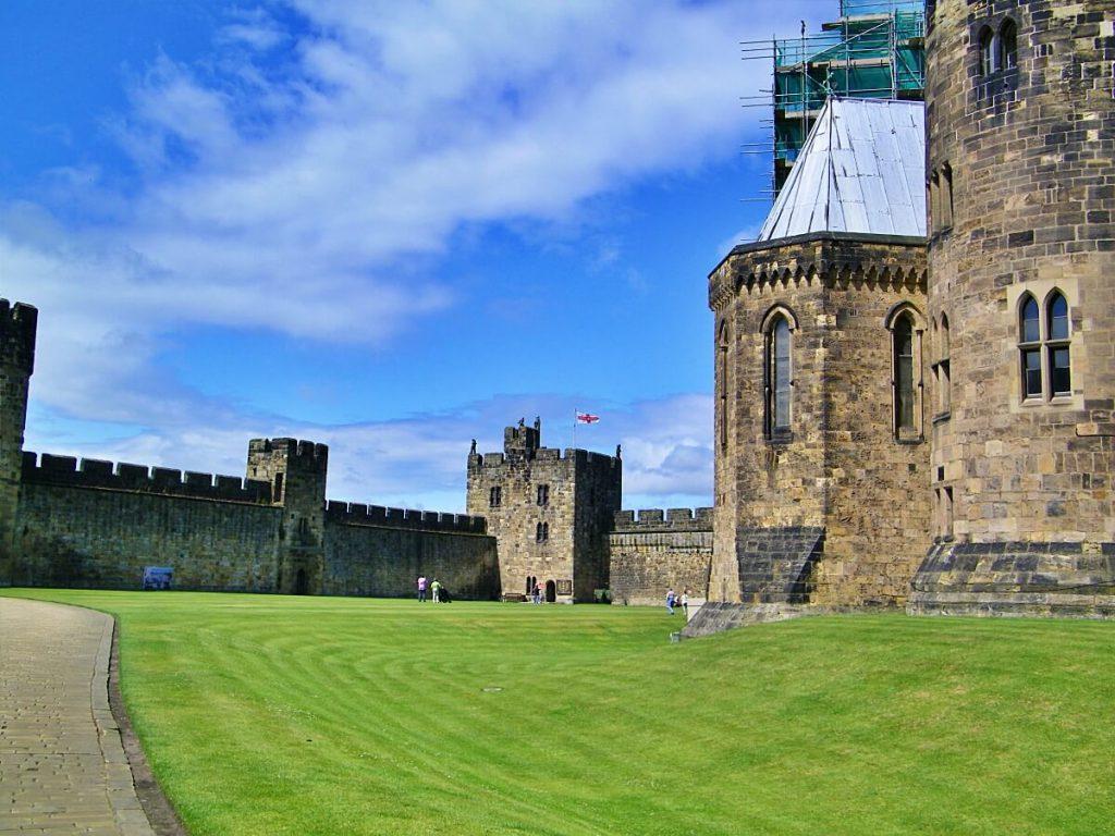 Hogwarts è Alnwick Castle