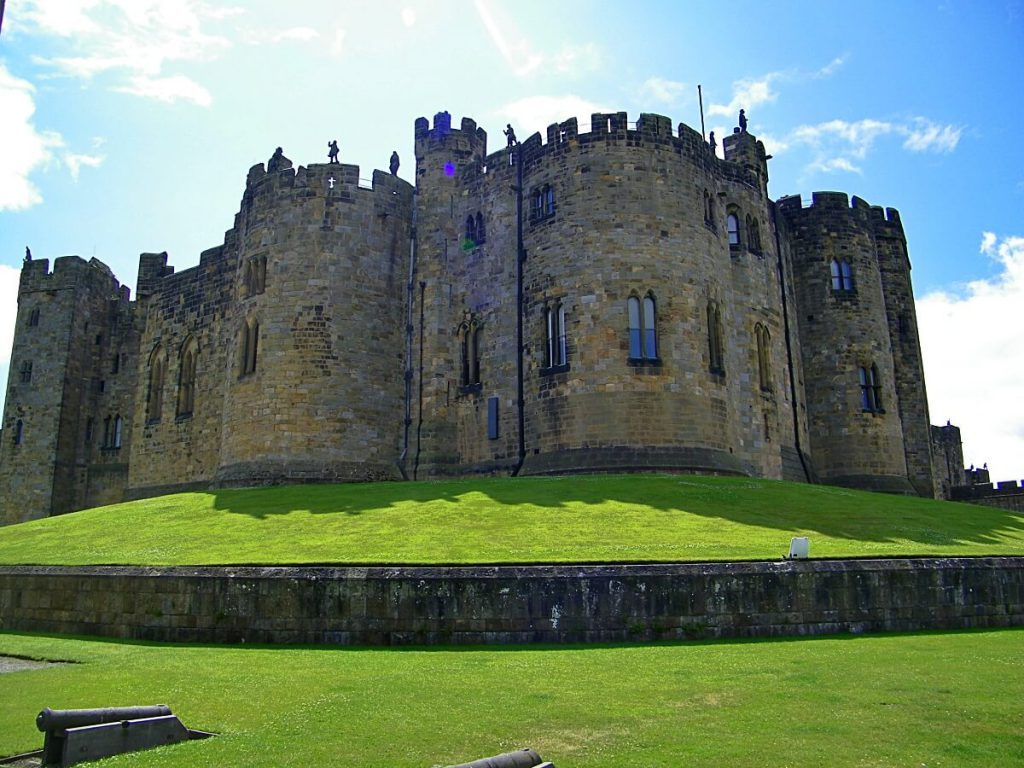 Alnwick castle, il castello di harry potter