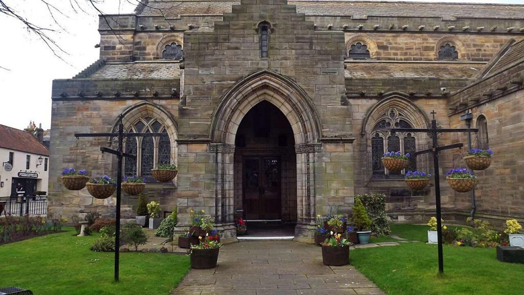 cosa vedere a saint andrews - holy trinity church scozia