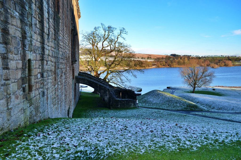 Linlithgow Palace e loch Linlithgow