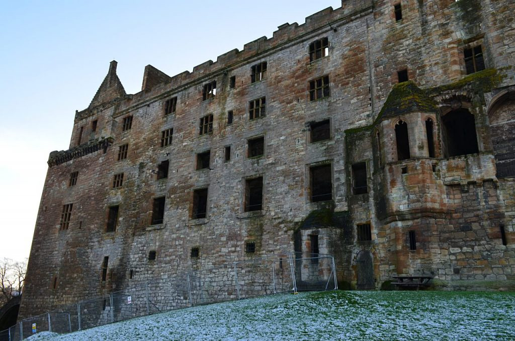 facciata laterale di Linlithgow Palace
