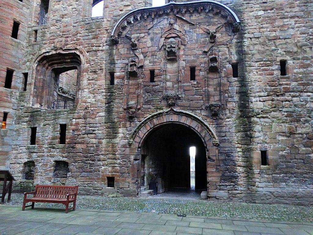ingresso al palazzo reale di Linlithgow