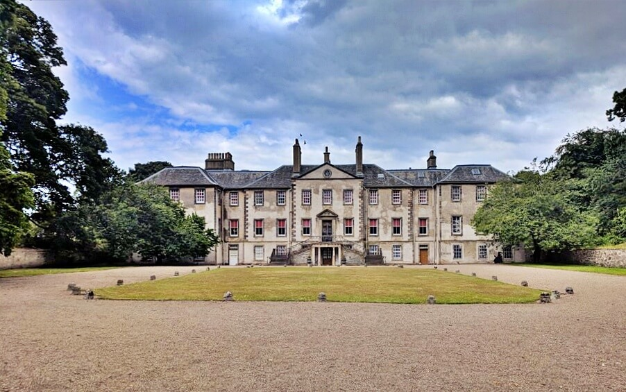 Newhailes House - outlander scozia