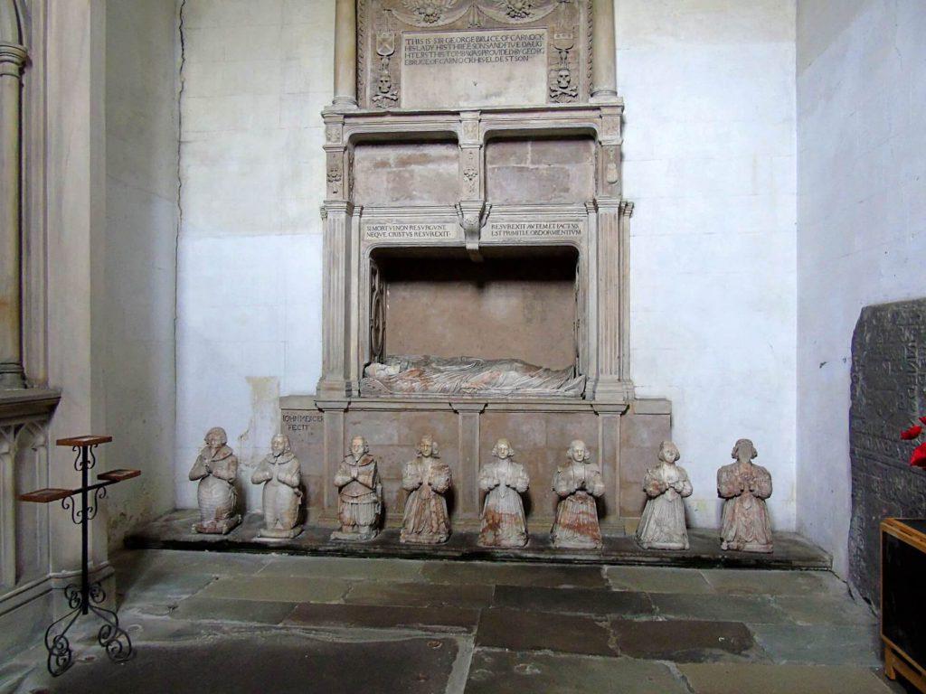 Sir George Bruce monument - culross abbey church - scozia