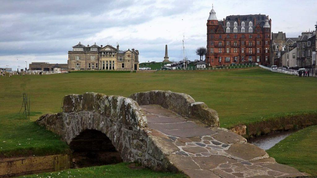 old course e swilken bridge - Cosa vedere a Saint Andrews