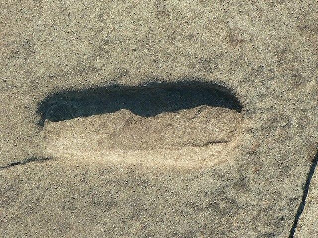 impronta di piede