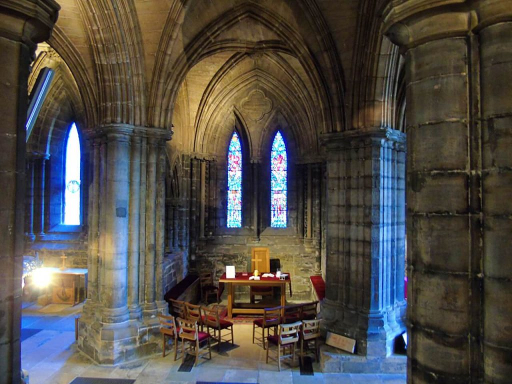 cattedrale di Glasgow, Locations di Outlander a Glasgow