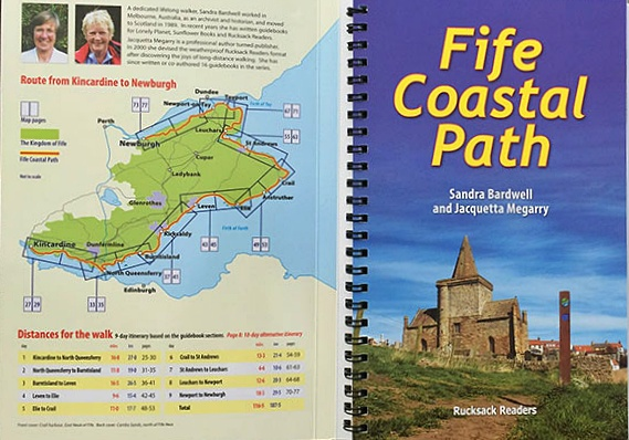 fife coastal path, mappa
