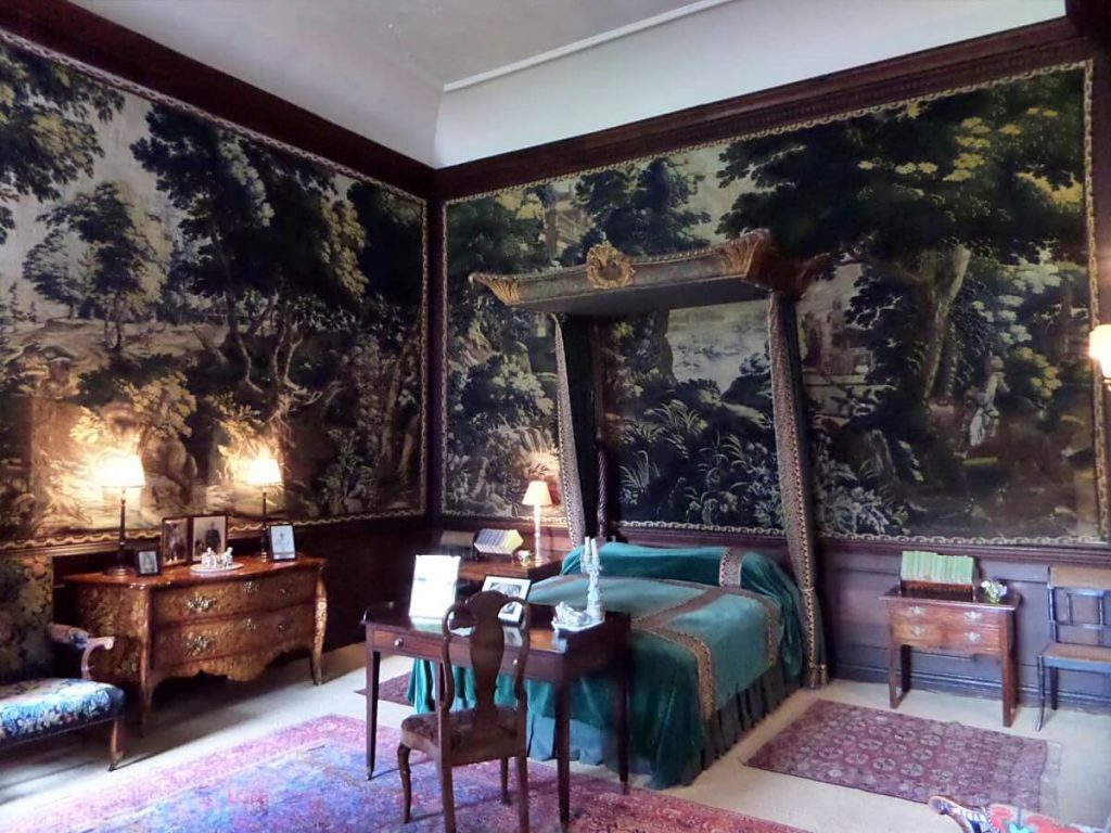 locations di Outlander a Hopetoun House, bruce house