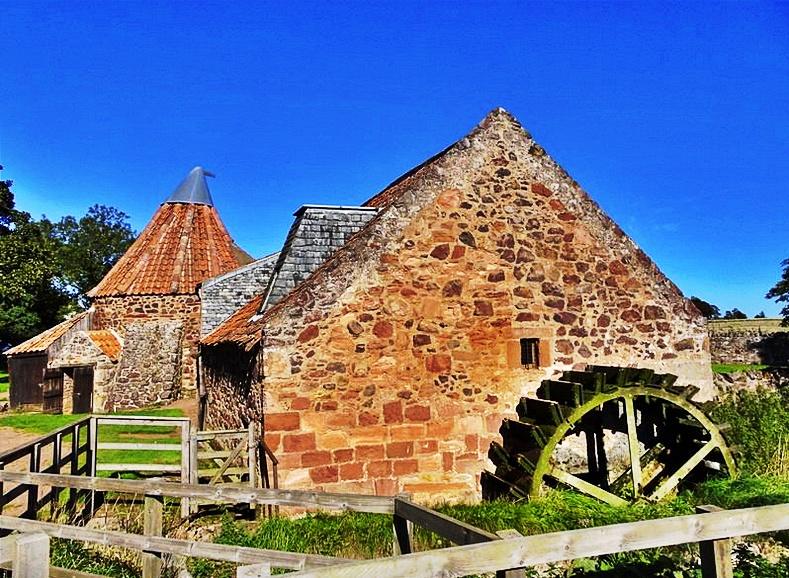 preston mill - outlander locations scozia