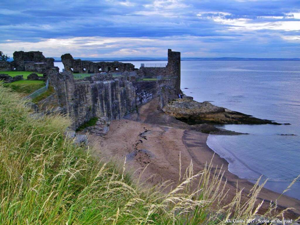 saint andrews castle - Cosa vedere a Saint Andrews - st andrews