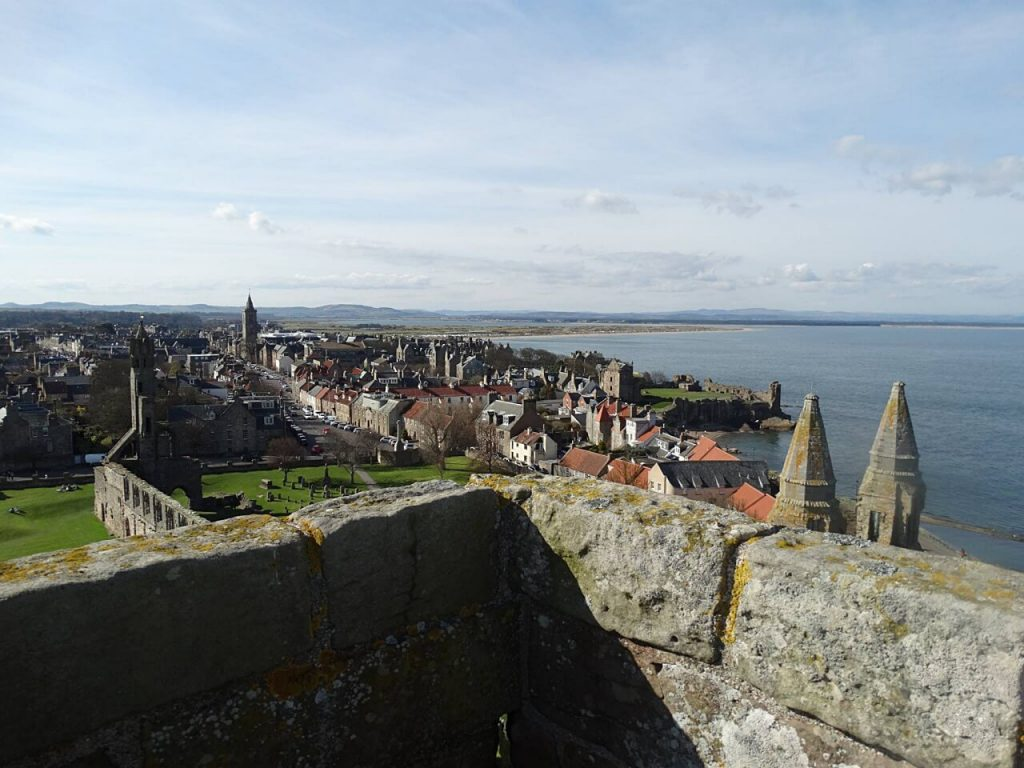 Cosa vedere a Saint Andrews scozia - the rule's tower