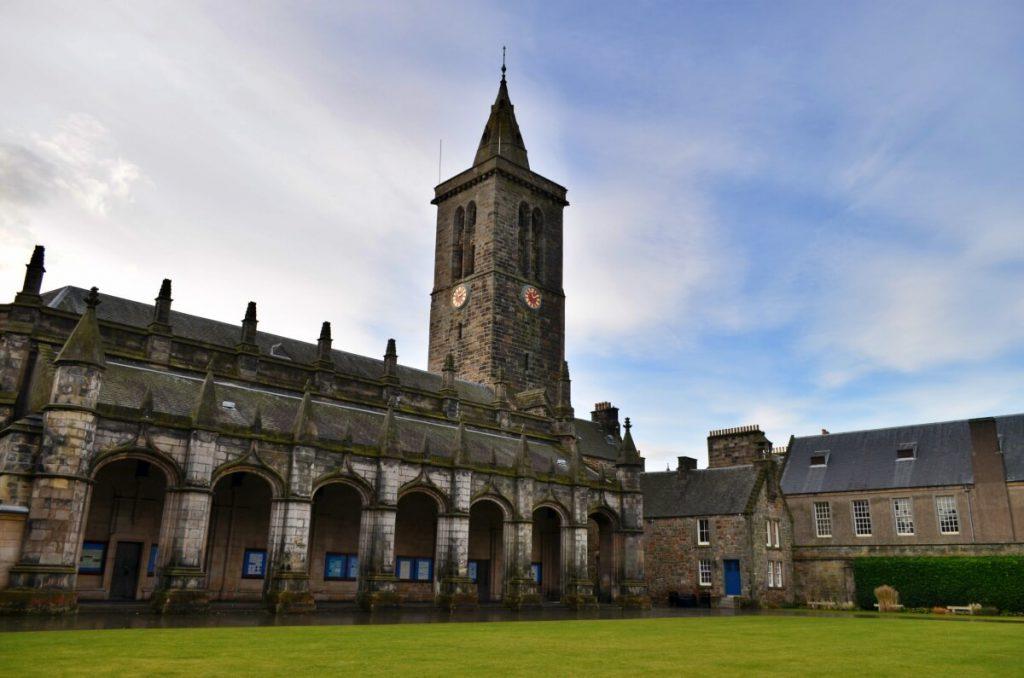 università di St Andrews, st salvator's college - st andrews fife