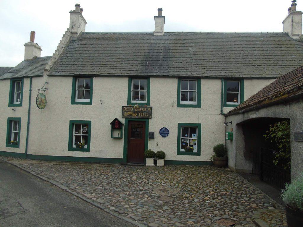 Culross il borgo di Outlander - the red lion inn