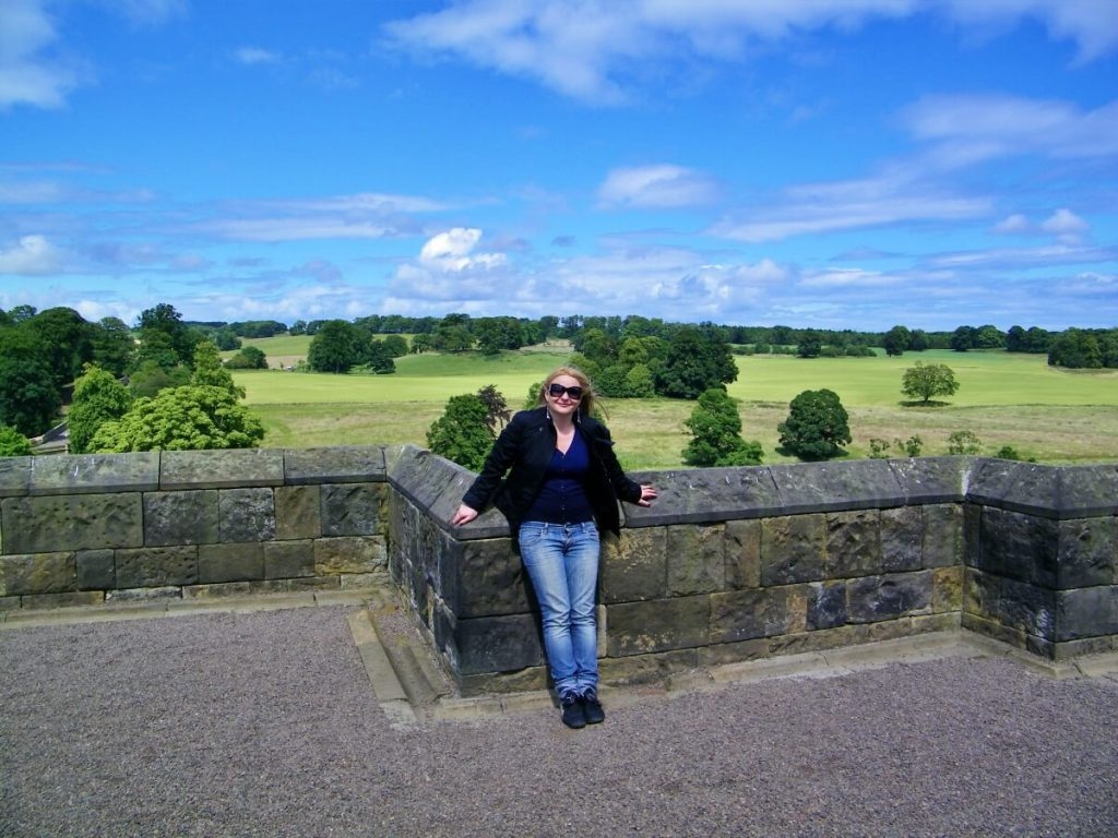 dove si trova il castello di harry potter - Alnwick castle