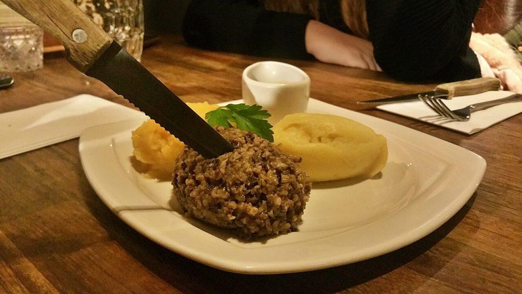 haggis - the last drop - haggis ricetta - piatto tipico scozzese