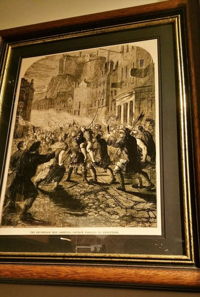 quadro del the porteus riots