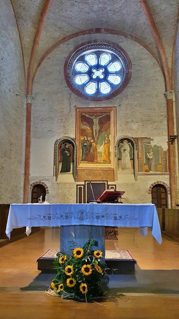 abbazia di fiastra, cappella