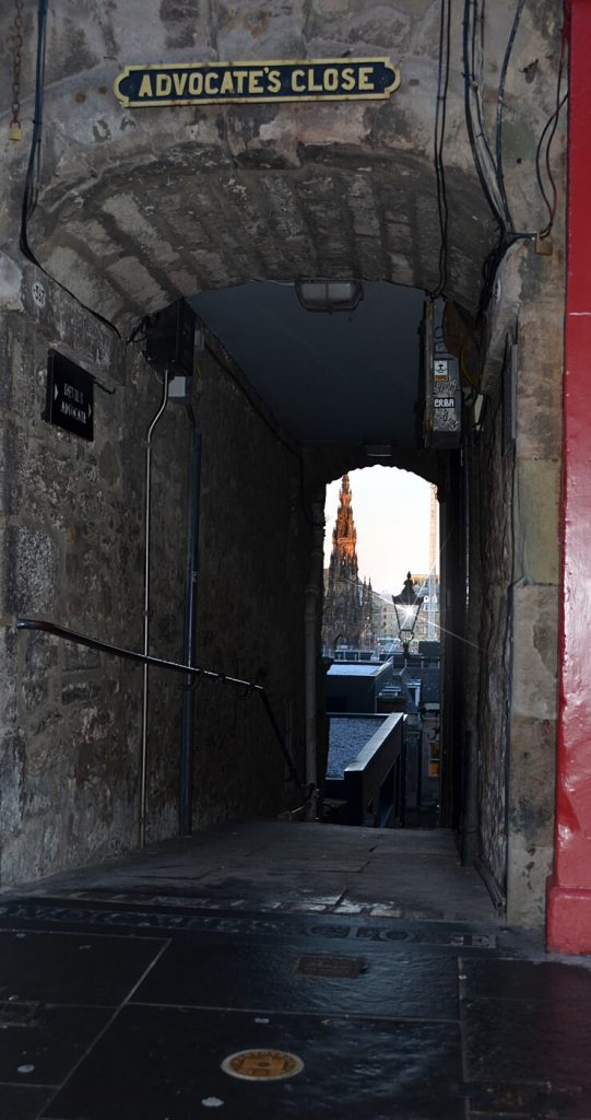 advocates close, edimburgo