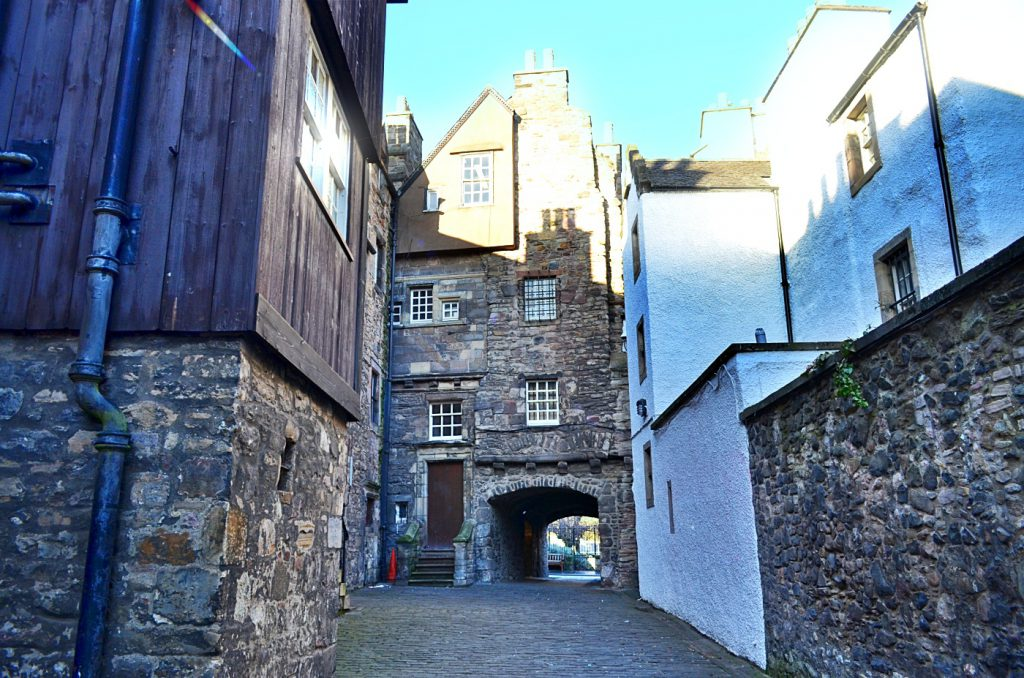 backhouse close, old town edimburgo