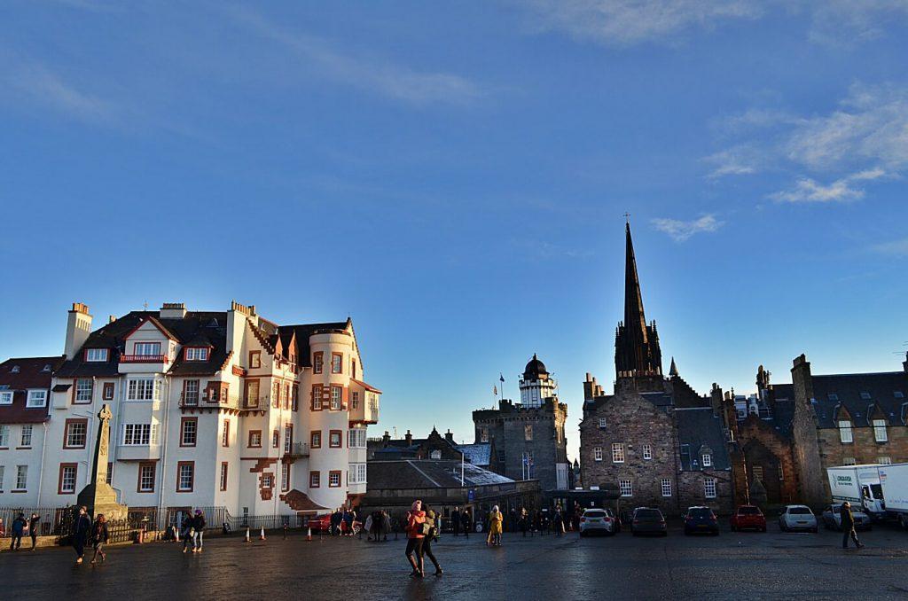 Camra obscura, il royal mile di Edimburgo
