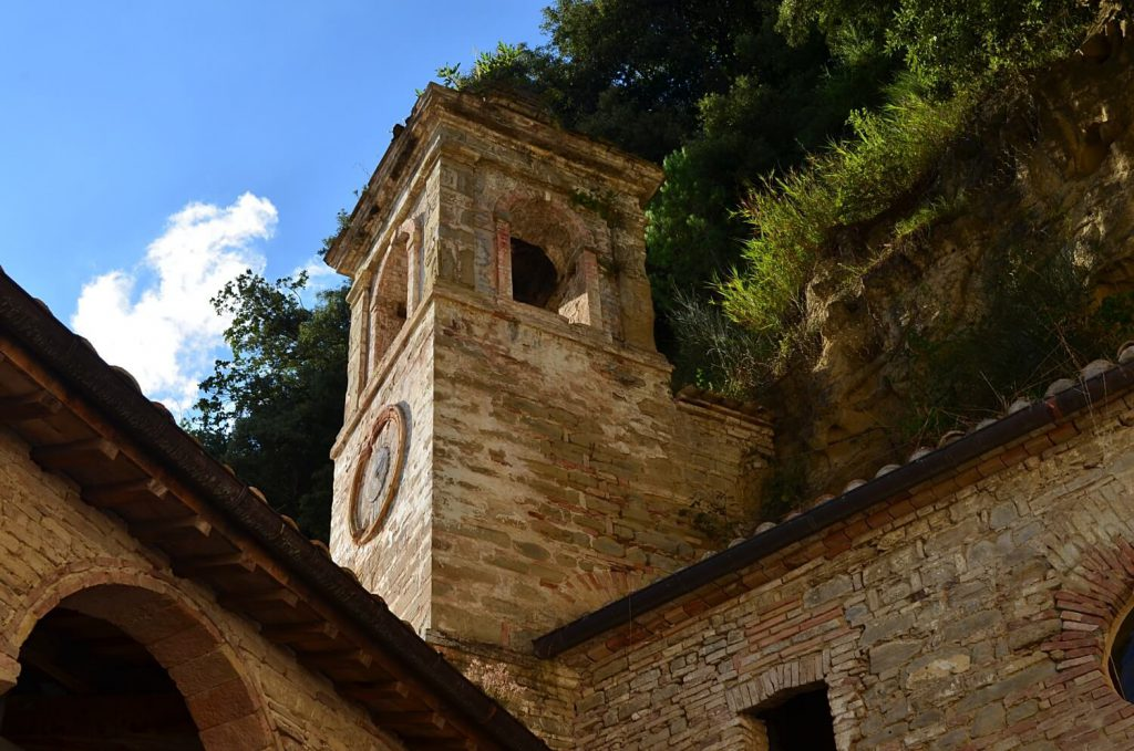 campanile, eremo delle grotte