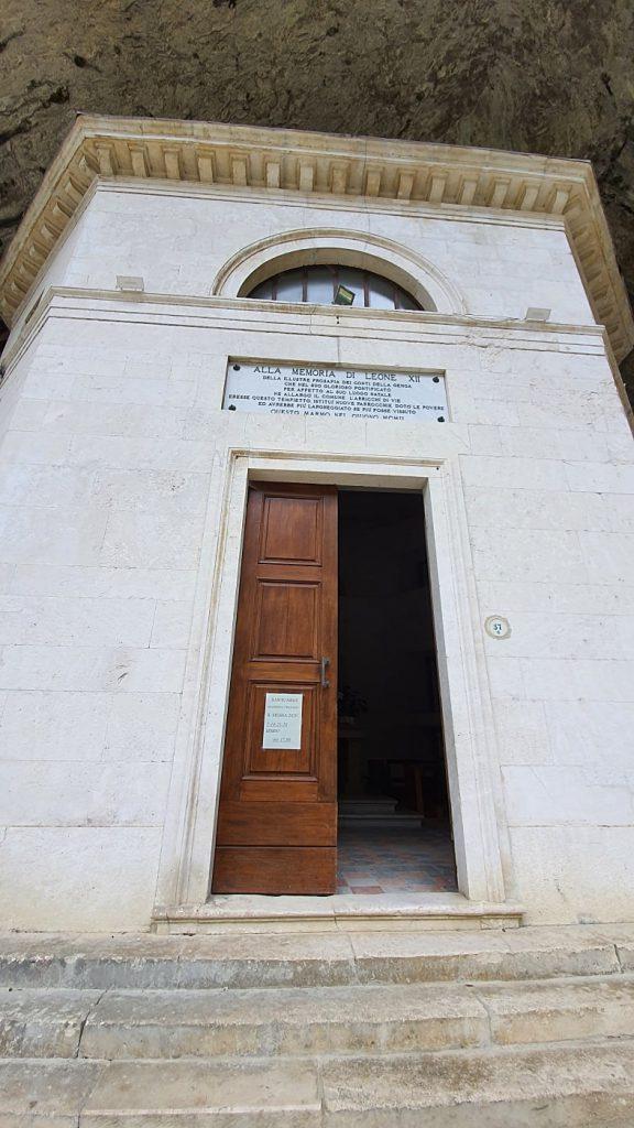 ingresso tempio del valadier