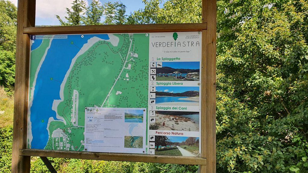 indicazioni per il lago di fiastra, fiastra lago - monti sibillini cosa vedere