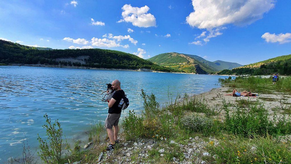 lago di fiastra - Monti sibillini - fiastra lago