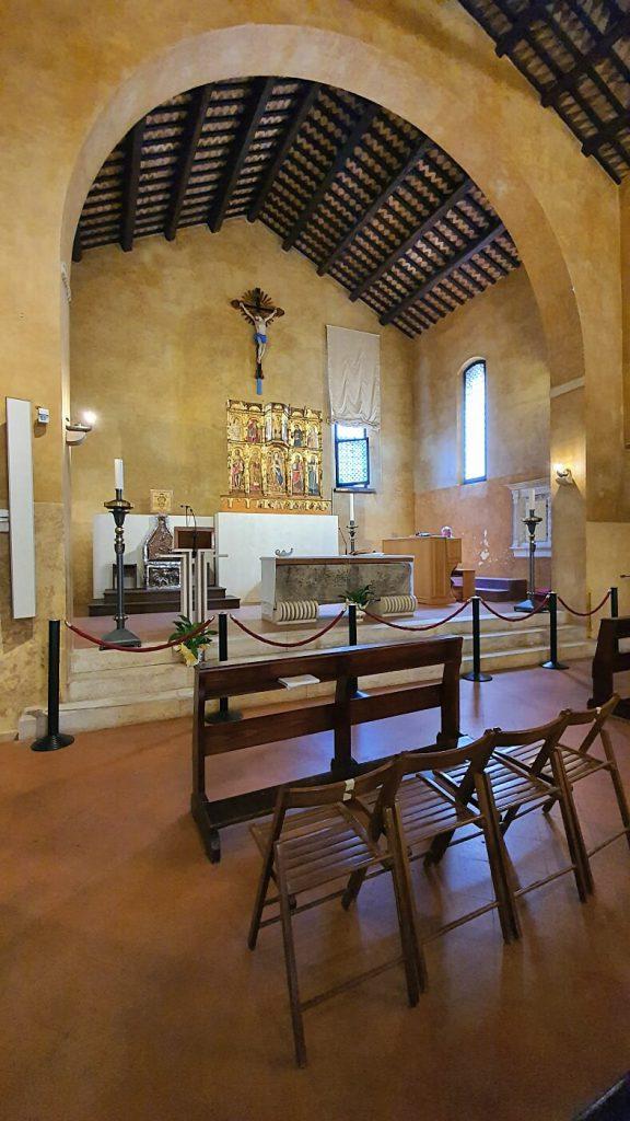 tampio di sant agostino, altare
