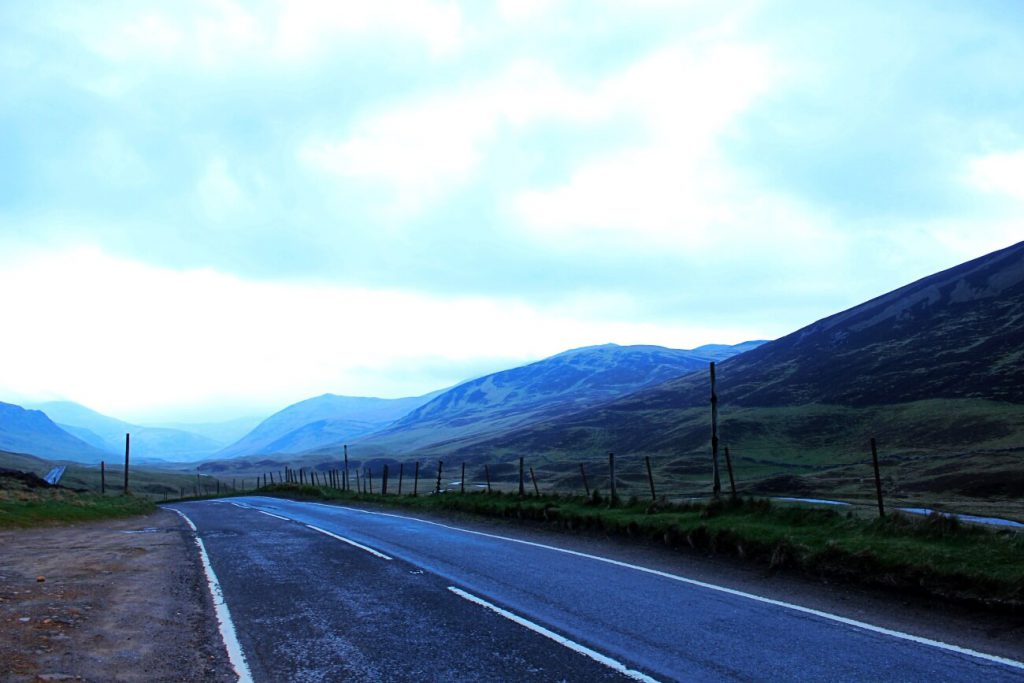 percorrere la strade della Scozia