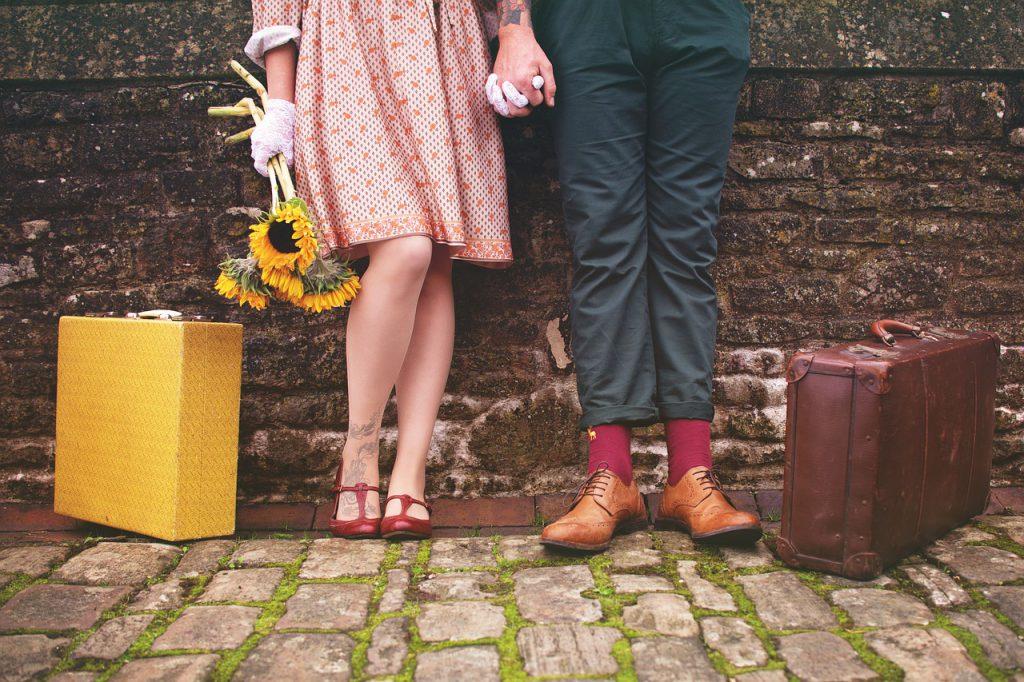 coppia in crisi in viaggio