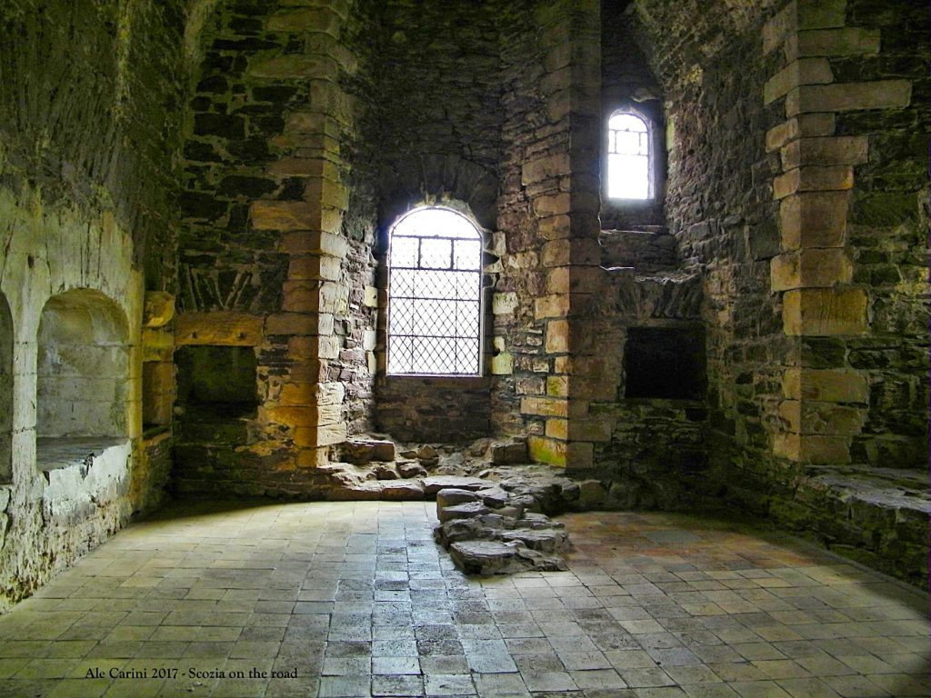 doune castle scozia - castle leoch