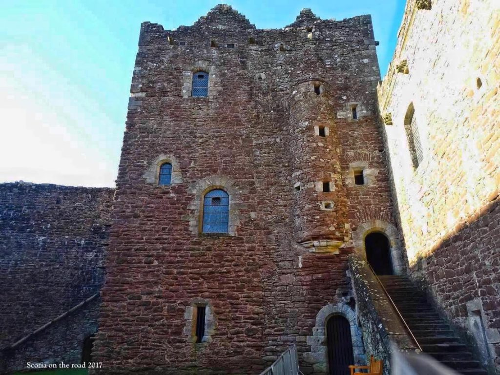 outlander scozia - grande inverno - castle leoch