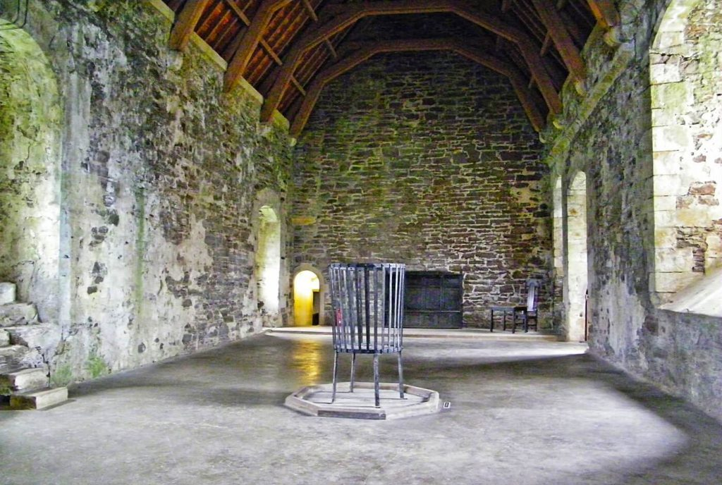 doune castle scozia - the great hall