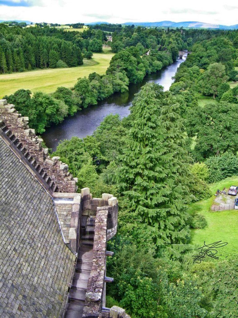doune castle - castle leoch - outlander scozia