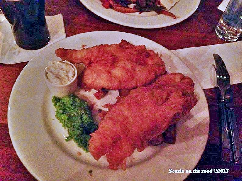 fish & chips - mangiare in scozia