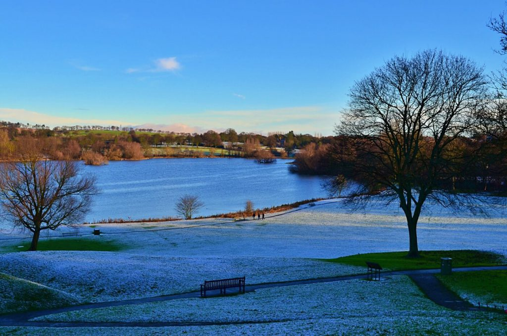Linlithgow loch - the peel