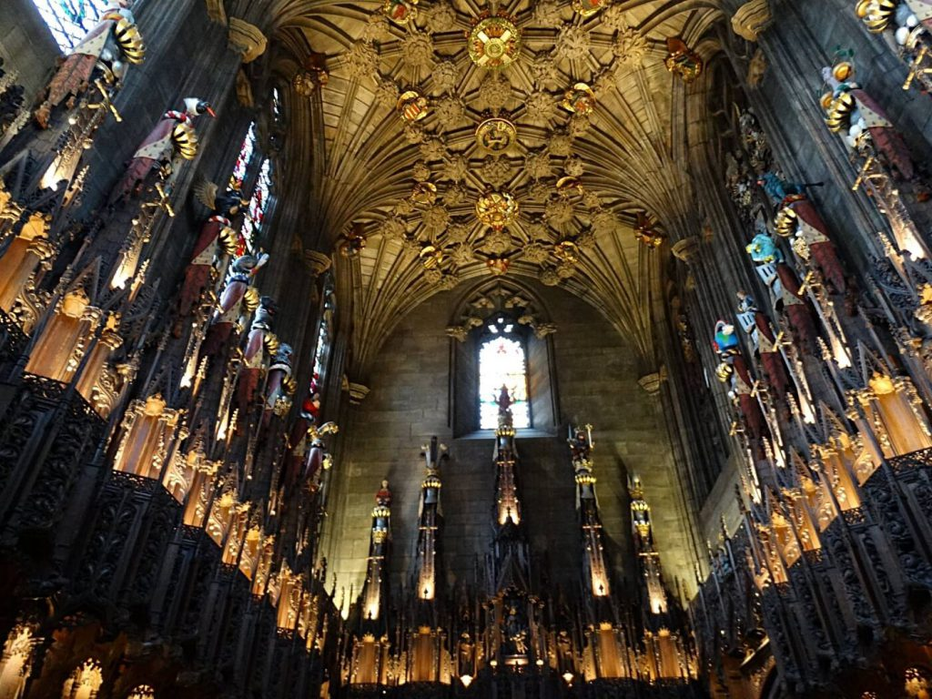 Thistle Chapel sti giles