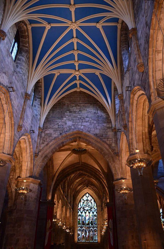 la cattedrale di St giles edimburgo