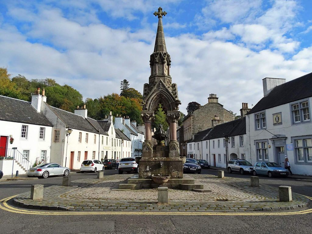 atholl memorial fountain - dunkeld