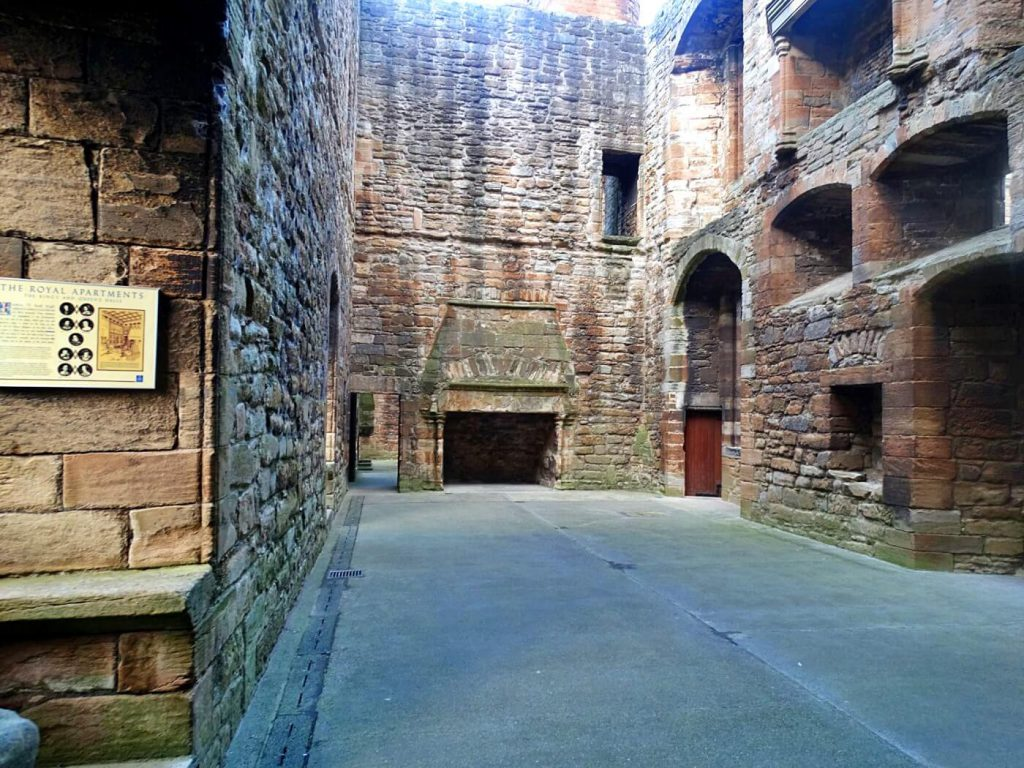 royal appartment - Linlithgow Palace