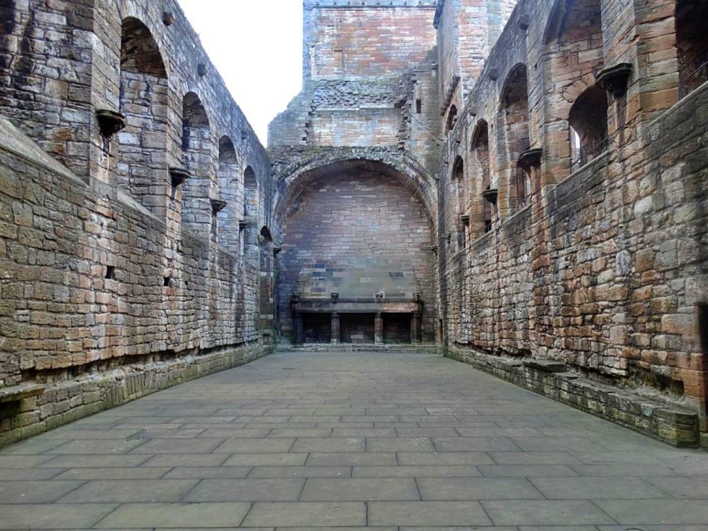 great hall Linlithgow Palace